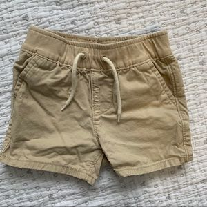 Khaki shorts from Baby Gal